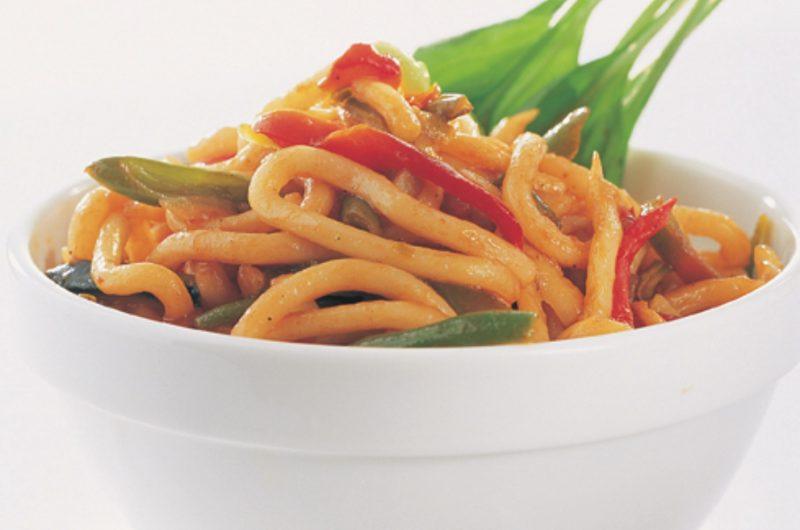 Oriental Noodle & Vegetable Stir Fry