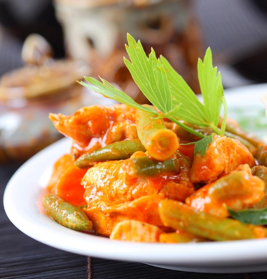 Red Chicken & Veg Curry
