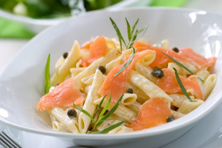 Creamy Smoked Salmon & Horseradish Pasta