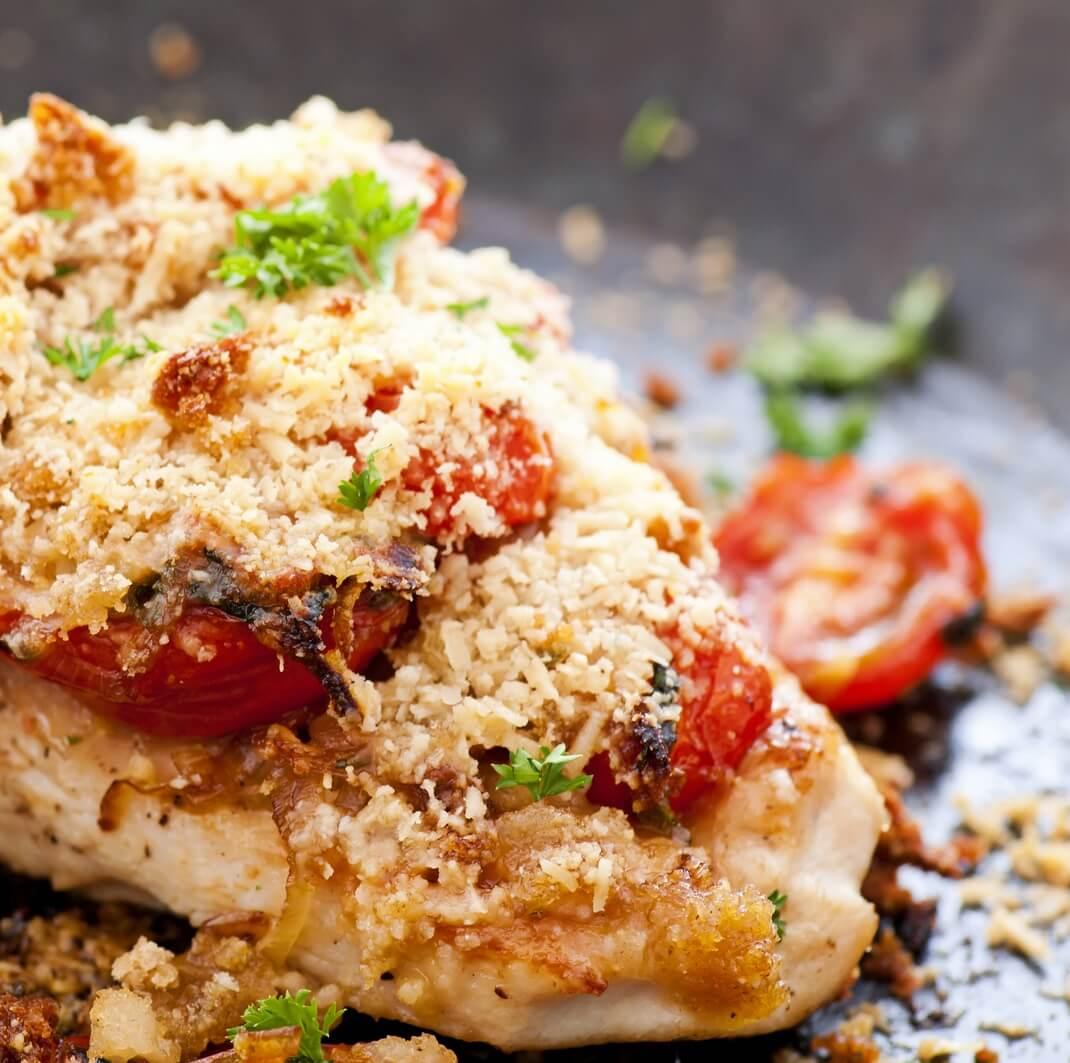 Italian-Style Chicken Steaks Recipe