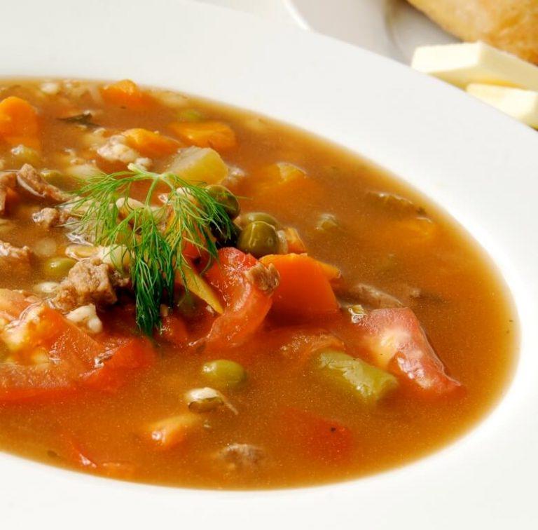 Lamb & Veg Soup