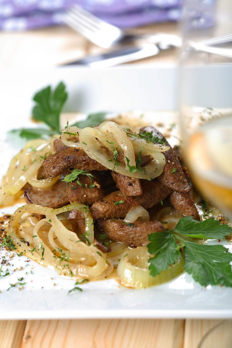 Beef liver and onion
