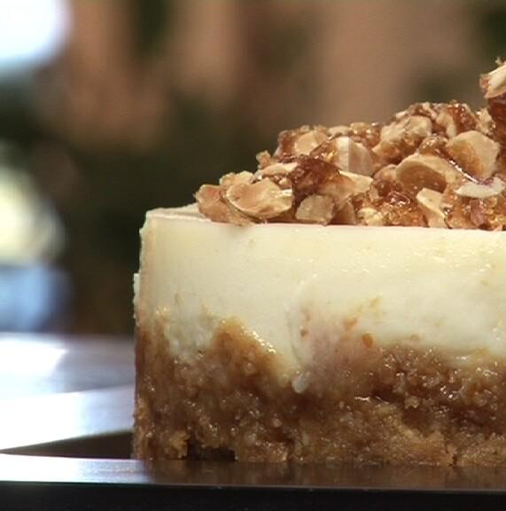 Best Ever Nut-Praline Cheesecakes Recipe