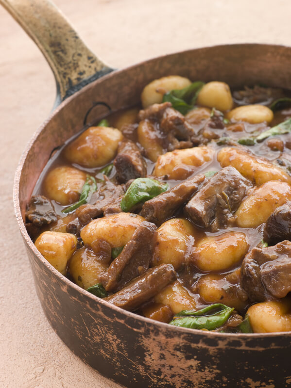 Oxtail with Gnocchi