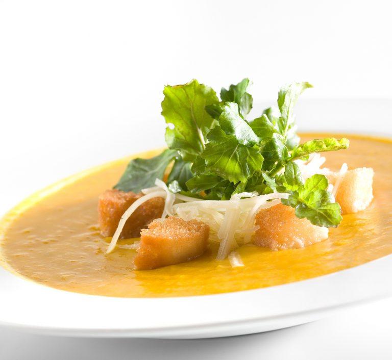 Roast Butternut & Brandy Soup